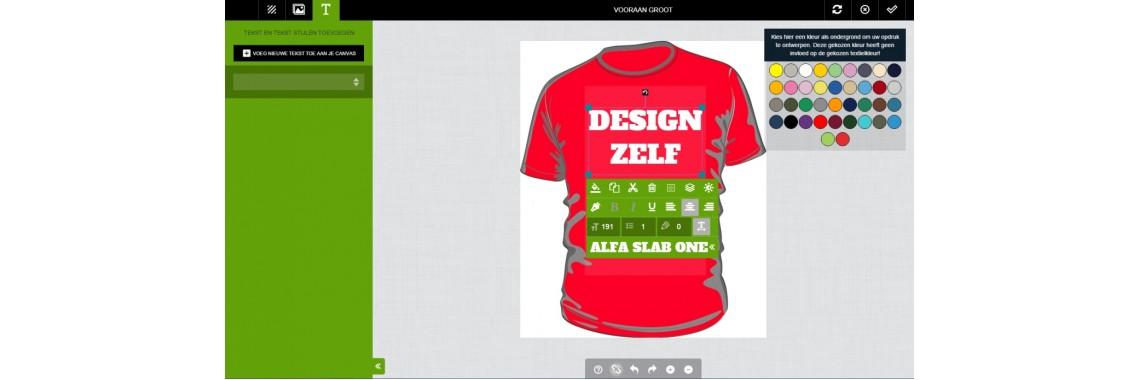 Design zelf